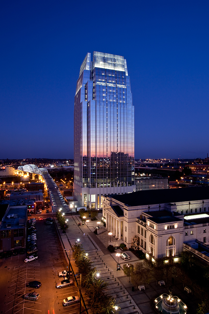 The Pinnacle at Symphony Place office building in downtown Nashville, TN